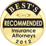 Best's Recommended Insurance Attorneys 2012