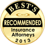 Best's Recommended Insurance Attorneys 2013