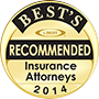 Best's Recommended Insurance Attorneys 2014