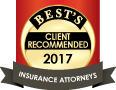 Best's Recommended Insurance Attorneys 2017