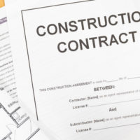 The construction contracts