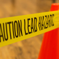 Caution leadpaint tape