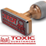 Toxic substance stamp