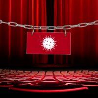salle de spectacle fermée pour cause de coronavirus